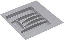 Подставка для столовых приборов 281x498x46 мм, цвет белый