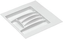 Вставка для столовых приборов 503x498x46 мм, цвет белый