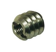 Муфта для вкручивания стальная оцинкованная M5 / 10x10 мм