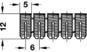 Муфта для запрессовки D 5х12NRL полиамид