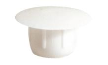 Заглушка отверстия 12,0 / 18 мм, пластмасса, белый