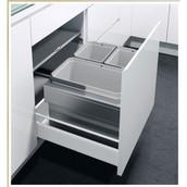 Выдвижная система сортировки VS ENVI Flex (Экофлекслайнер), ширина корпуса 600мм, два ведра