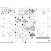 Выдвижная система сортировки VS ENVI Space (Эколайнер), ширина корпуса 600мм, двойное разделение, 1*22л, 2*9л