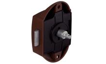 Накладной замок-задвижка Push-Lock NM никель мат