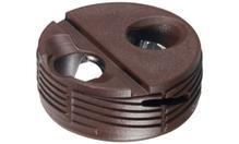 Корпус стяжки TOFIX для толщины плиты 18-25мм, пластик, коричневый