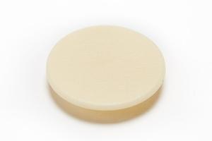 Заглушка Минификс 17 мм, пластмасса, бежевый