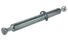 Болт стяжки MINIFIX для двойного крепления стальной без покрытия D7мм глубина сверления 34мм