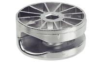 Корпус стяжки MAXIFIX под шестигранник цинковый сплав без покрытия D35мм глубина сверления 17мм толщина детали 24 мм