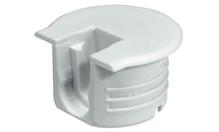Корпус стяжки RAFIX TAB пластиковый белый D20мм глубина сверления 12.7мм толщина детали 16мм