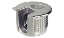Корпус стяжки RAFIX SE без утолщения цинковый никелированный D20мм глубина сверления 12.7мм