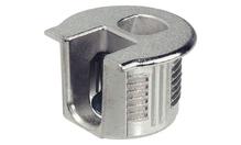 Корпус стяжки RAFIX SE без утолщения цинковый никелированный D20мм глубина сверления 14.2мм