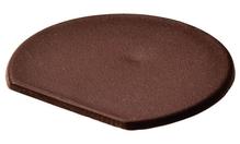 Заглушка для корпуса стяжки RAFIX пластиковая коричневая D24мм толщина детали 19мм