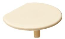Заглушка для корпуса стяжки RAFIX пластиковая бежевая D24мм толщина детали 19мм