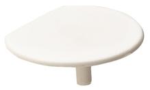 Заглушка для корпуса стяжки RAFIX пластиковая белая D24мм толщина детали 19мм