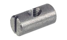 Поперечный болт с резьбой М6 D10х14 мм центричный сталь
