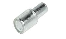 Полкодержатель для стекла, сталь, оцинкованный, d7 мм для отверстия d = 5 мм
