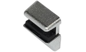 Полкодержатель с фиксатором для стекла 4,6,8 мм