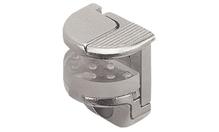 Полкодержатель с защелкой-фиксатором для стекла до 10 мм