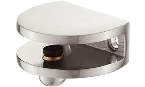 """Полкодержатель """"Пеликан"""" для размера 5-8мм, D3.3, цвет: нержавеющая сталь"""