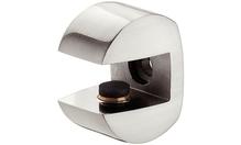 """Полкодержатель """"Пеликан"""" для размера 8-10 мм, 22х29мм, цвет белый алюминий"""