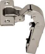 Петля METALLA SM N 90 ° прямая длинная рука сталь никелированная шаблон: 45/9.5 под шуруп