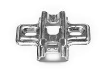 Монтажная планка METALLA SM N крестовая 2мм сталь никелированная под шуруп