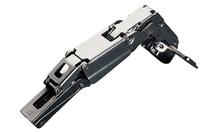 Петля SALICE PUSH 165 ° накладная сталь никелированная шаблон: 45/9.5 под шуруп