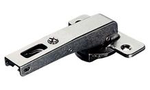 Петля DUOMATIC PUSH 94 ° прямая длинная рука сталь никелированная шаблон: 48/6 под шуруп