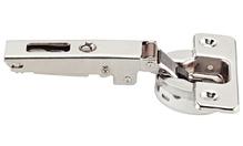 Петля SALICE SILENTIA 100105 ° накладная изгиб 0мм сталь никелированная шаблон: 45/9.5 под шуруп