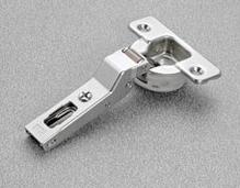 Петля SALICE SILENTIA 100 15 ° накладная сталь никелированная шаблон: 45/9.5 под шуруп