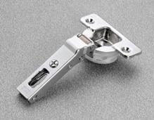 Петля SALICE SILENTIA 100 30 ° накладная, сталь никелированная шаблон: 45/9.5 под шуруп