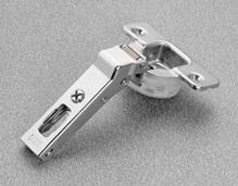 Петля SALICE SILENTIA 100 45 ° накладная сталь никелированная шаблон: 45/9.5 под шуруп