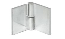Петля для стекла левая 65х35 ALM