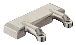 Адаптер FREE FOLD для     Материал: сплав цинка.     Покрытие: никелированное.     Крепежный материал в комплекте.     Используется с механизмами FREE FOLD. алюминиевой рамы 20мм цамак никелированный
