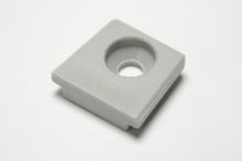 Элемент скользящий пластмасса цвет серый