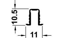 Шина ходовая / направляющая STARTEC алюминий 6м