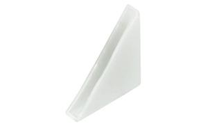 Распорная резинка для стекла 4 мм, белый