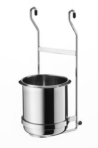 Навесной держатель для столовых приборов Linero 140х165х365 мм хромированный полированный