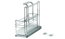 Выдвижной механизм для моющих средств PORTERO с 1 навесной корзиной