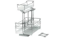Выдвижной механизм для моющих средств PORTERO с 3мя навесными коризинамы