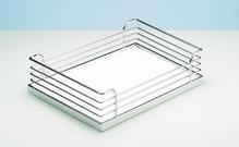 Навесная корзина ARENA Classic для Tandem хром / белый 533x275x88 мм