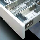 Царга ALTO 84X350мм сталь цвет: серый