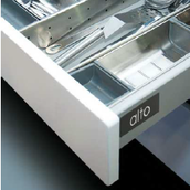 Царга ALTO 84X450мм сталь цвет: серый