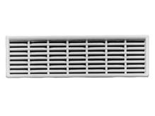 Вентиляционная решетка 68x227 мм, белая