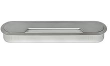 Кабельный канал 2-секционный, цвет белый алюминий 207х38 мм