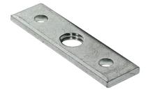 Планка монтажная М10 16х60 мм, сталь, оцинкованная