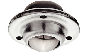 Опора шариковая с пластиной D25/45 мм, Н20 мм