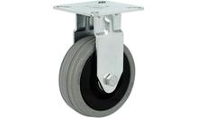 Резиновый ролик 40 кг D50 мм, не поворотный