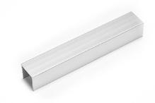 Заглушка для ребристого цоколя сатин 100 мм