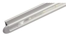 Светильник LED 2005 врезной алюминиевый цвет: серебряный 12V/1.2W холодный белый свет 575мм